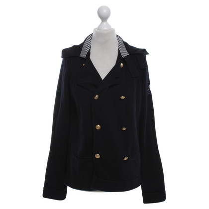 Moschino Love Cardigan in blu scuro