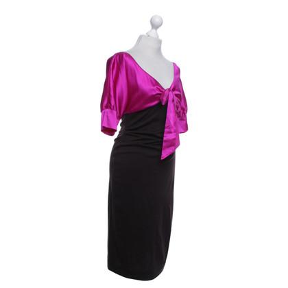 Diane von Furstenberg Dress in pink / brown