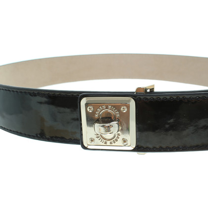 Karen Millen Patent leather belt