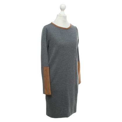 Other Designer Jo No Fui - Dress in grey / Brown