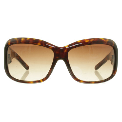Dolce & Gabbana Sonnenbrille in Hornoptik