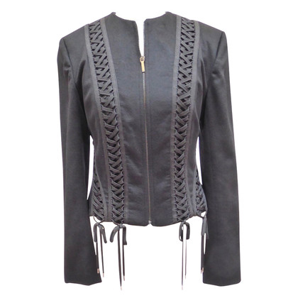 Christian Dior Cashmere jacket with lacing