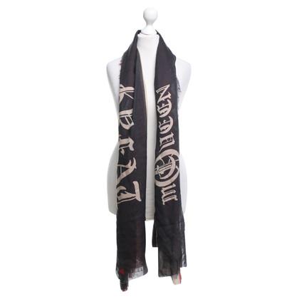 Alexander McQueen sciarpa con frange