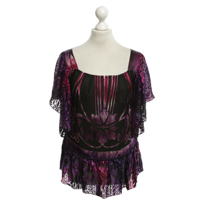 Anna Sui top with pattern