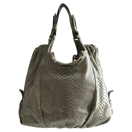 Escada Tote Bag from python leather