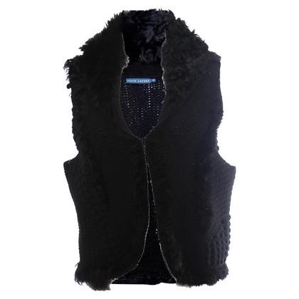 Ralph Lauren Black fur Bolero