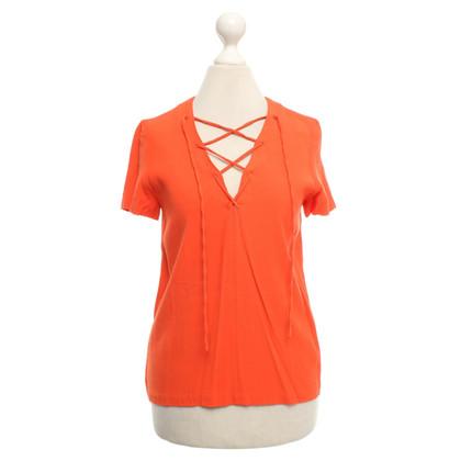 Sandro Orange shirt