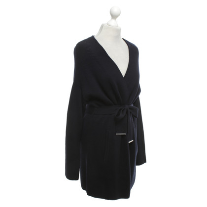 Strenesse Knitted coat in navy blue