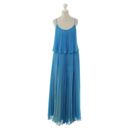 Halston Heritage Maxi jurk blauw