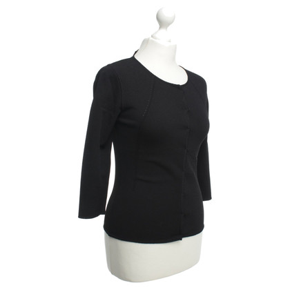 Alessandro Dell'Acqua top in black