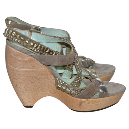 Etro Sandals with wedge heel