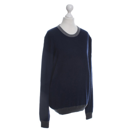 Moncler Cashmere sweater in blue