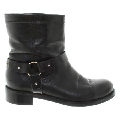 Jimmy Choo Biker boots in zwart