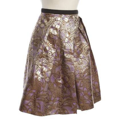Marni for H&M Pleated skirt with pattern