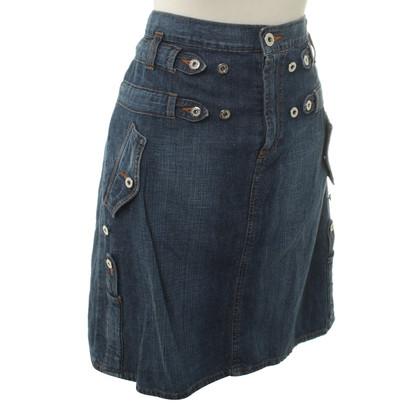 Dolce & Gabbana Gonna di jeans in blu