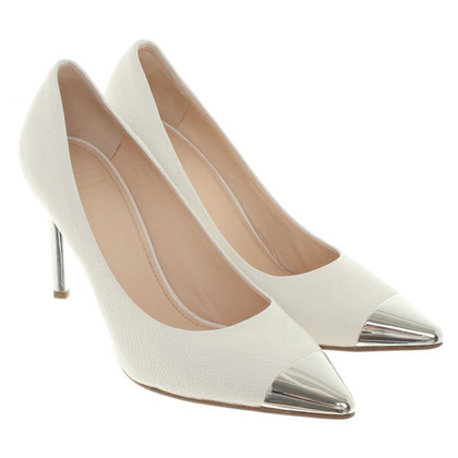 Michalsky Leather pumps in het wit
