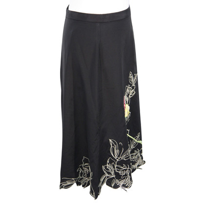 Karen Millen Silk skirt with applications
