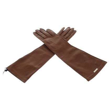 Dsquared2 guanti di pelle