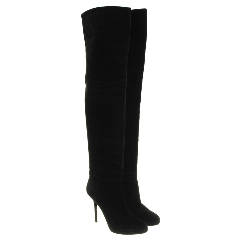Jimmy Choo Thigh high boots in black