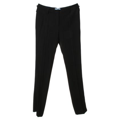 Prada Pantaloni neri eleganti