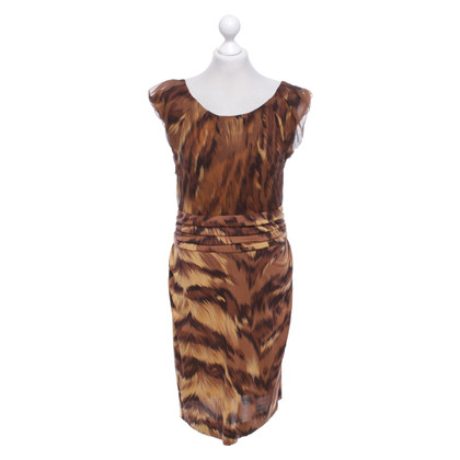 "Diane von Furstenberg zijden jurk ""Jamila"" met patroon"