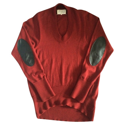 Maison Martin Margiela Sweater with elbow patches