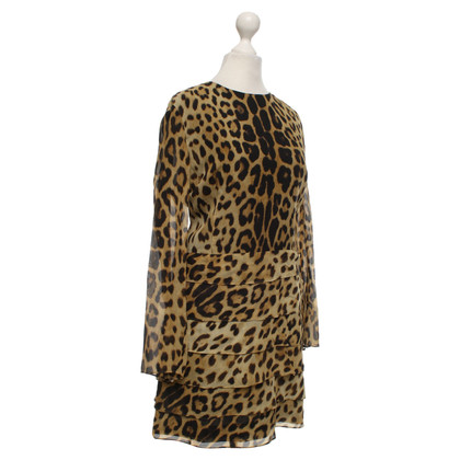 Moschino Cheap and Chic Dress with leopard pattern
