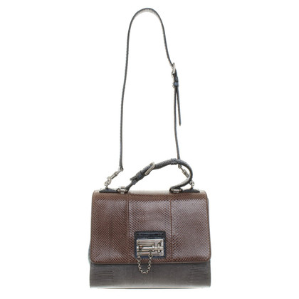 """Dolce & Gabbana """"Monica Bag"""" from exotic leather mix"""