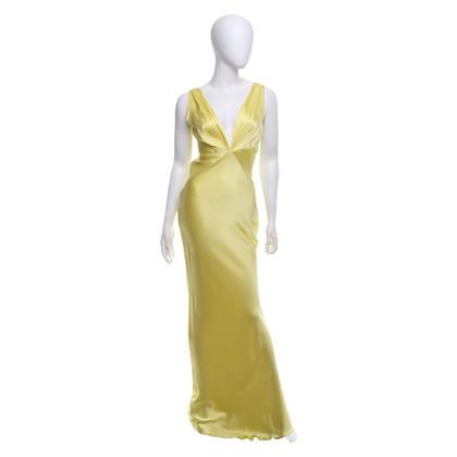 Ermanno Scervino Seidenkleid in Gelb