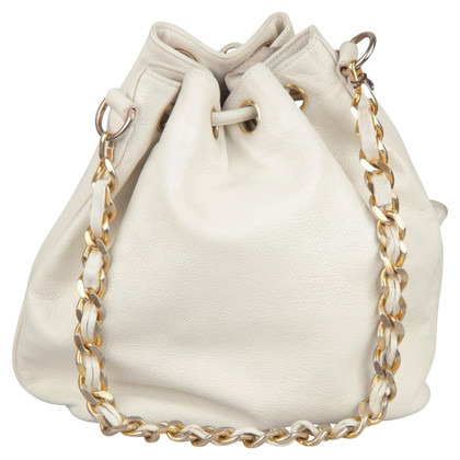 Chanel Pouch in white