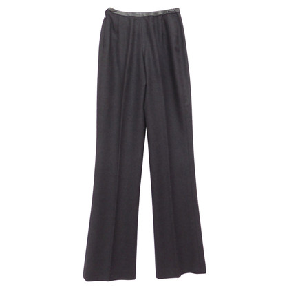Chanel trousers with wide legs
