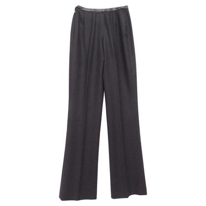Chanel Pantaloni con gambe larghe