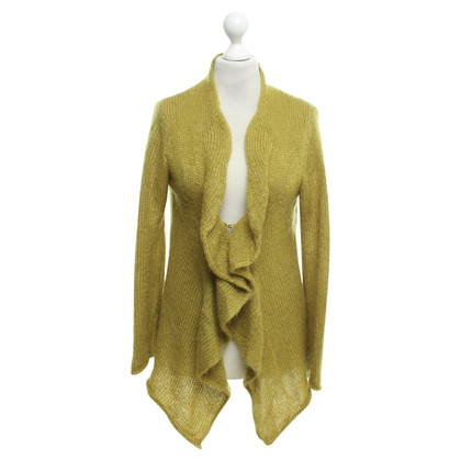 Luisa Cerano Cardigan in yellow-green
