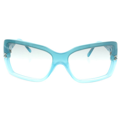 Chanel Blauwe zonnebril