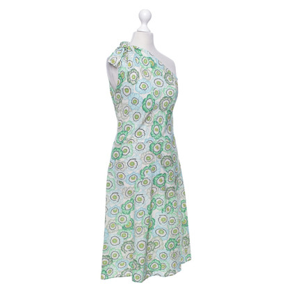 Gucci Silk dress with a floral pattern