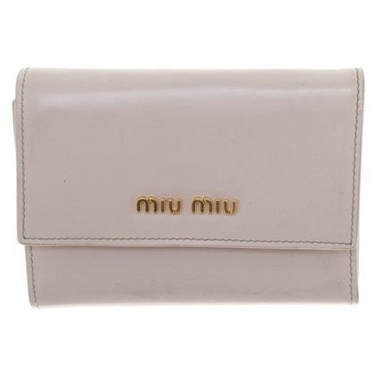 Miu Miu Wallet in lichtroze