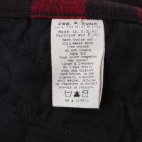 Rag & Bone Pantaloni a quadri in bicolore