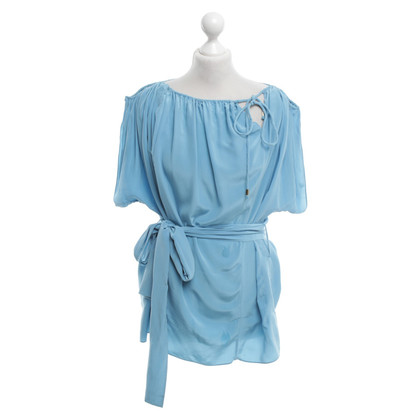 Dorothee Schumacher Top in seta in Blue