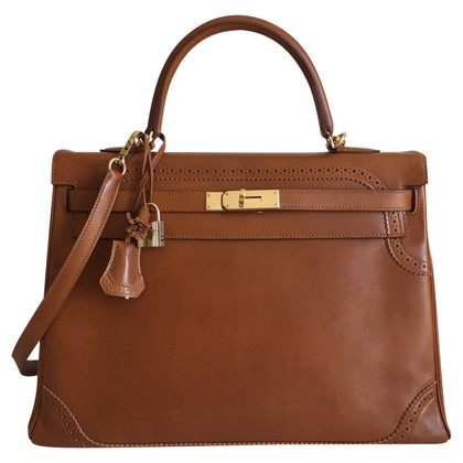 "Hermès ""Kelly Bag 35 Ghillies"""