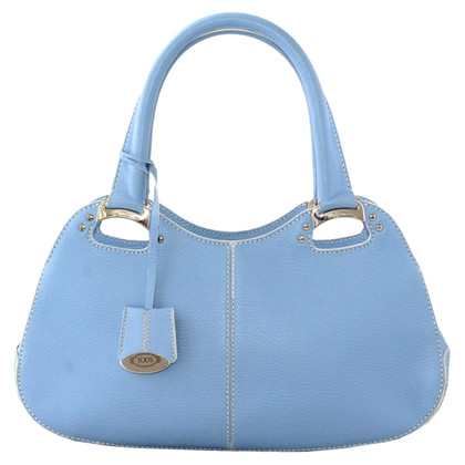Tod's Handtasche in Türkisblau