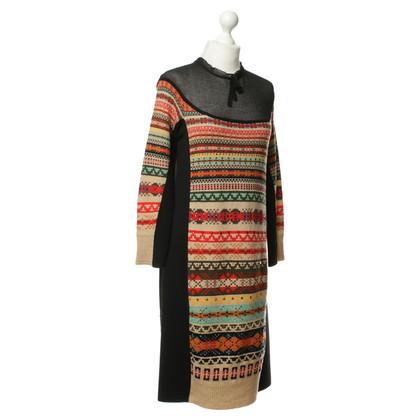 Sonia Rykiel Knit dress with Rhinestone stone trim