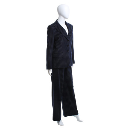 Max Mara 3-piece suit with pinstripe