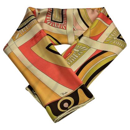 Emilio Pucci Sciarpa di seta di Pucci Vintage degli anni ' 90.