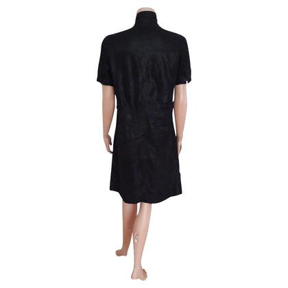 Hugo Boss Leder-Kleid