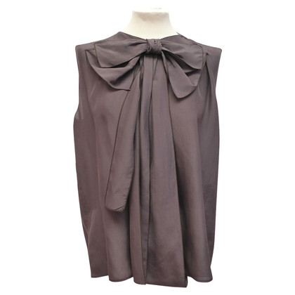 Stella McCartney Silk blouse with bow