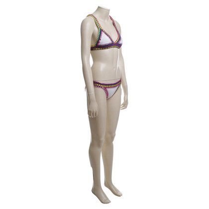 Kiini  Bikini mit Häkeldetails