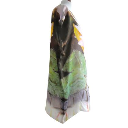 Roberto Cavalli Robe de soie Floral
