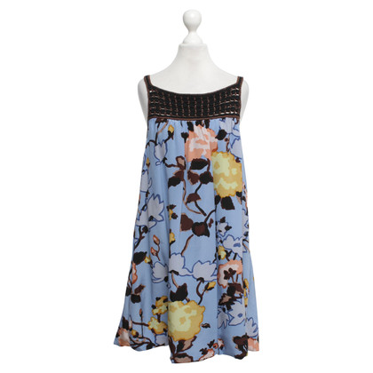 Missoni Babydoll dress in light blue