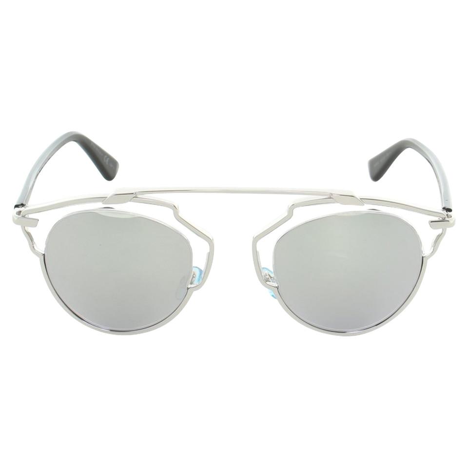 christian dior sonnenbrille mit verspiegelten gl sern. Black Bedroom Furniture Sets. Home Design Ideas