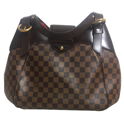 "Louis Vuitton ""Sistina GM Damier Ebene Canvas"""